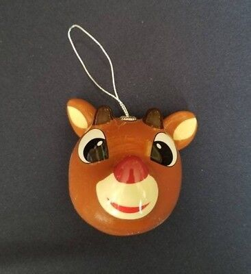 Character Arts RUDOLPH THE RED-NOSED REINDEER Large Head Ornament