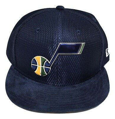 New Era 59Fifty NBA On-Court Utah Jazz Basketball Fitted Hat Cap NWT Pick Size