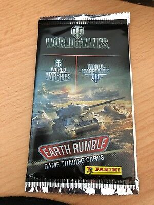 Panini - World of Tanks - 5x Trading Cards Booster - Earth Rumble