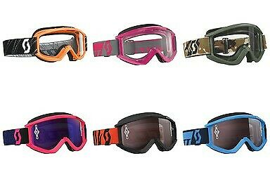 Scott Recoil Xi Offroad Motorcycle/Motocross MX Dirtbike Adult Riding Goggles