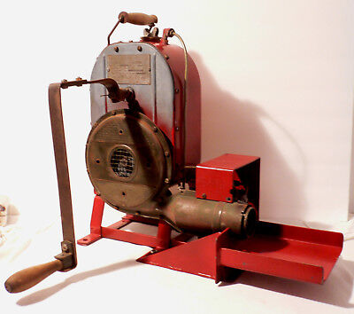 WWII Stewart - Warner Hand Crank Heater Model 796-A Army Air Corps