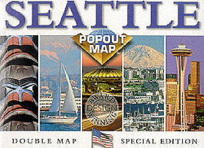 """""""VERY GOOD"""" Seattle (USA PopOut Maps), Compass Maps, Book"""