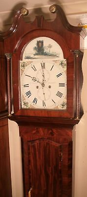 "Antique Mahogany "" Edinburgh"" Automation  Zodic   Longcase / Grandfather Clock"