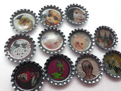 20x Bottle Caps for Hair Bows,Jewellery&Crafts,Scrapbooking Embellishments