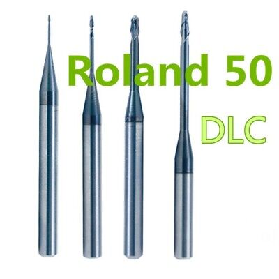 Roland DWX-50 Series | Dental Milling Bur - DLC Coated (High Quality) Limited Qt