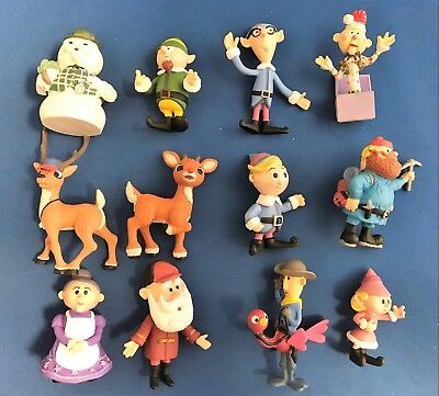 2002 Memory Lane Holiday Figurine Collection.  Rudolph-The Island of Misfit Toys