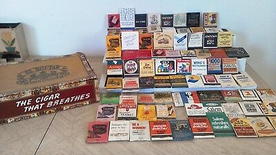 VTG MIXED LOT MATCHBOOK COVERS DRUG STORES HOTELS Random Advertising Mixed lot
