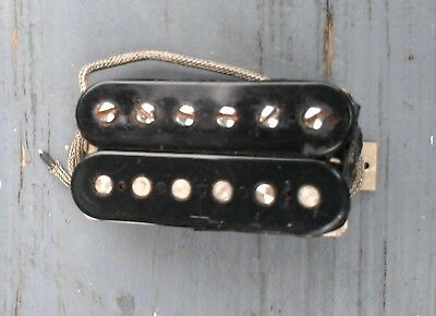 Cool mid 1960s Gibson Humbucking Pickup - One Pat Number coil, One T top coil
