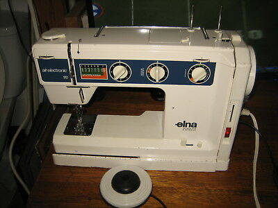 ELNA AIR ELECTRONIC SU Sewing Machine Parts Or Repair Does Work Gorgeous Elna Sewing Machine Parts