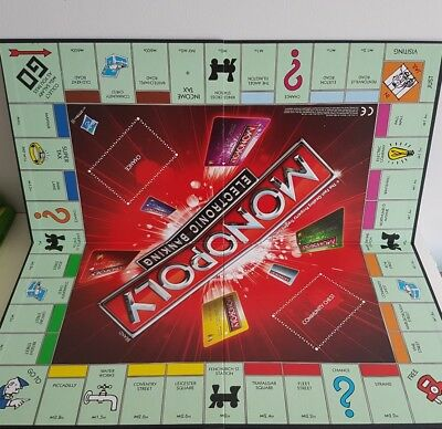 Monopoly Electronic Banking Game By Hasbro A7444 Full Game