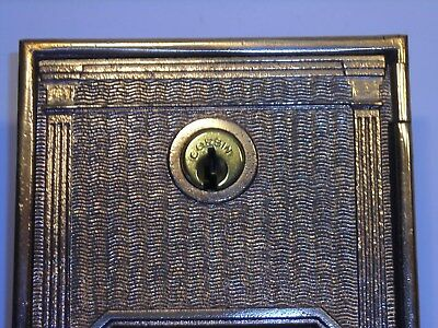 Antique Circa 1912 Post Office Door Vintage USPS Postal Mail Box P.O. Bank