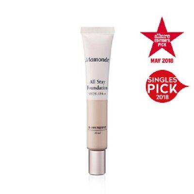 Mamonde All Stay Foundation 20ml - [FREE SHIPPING]