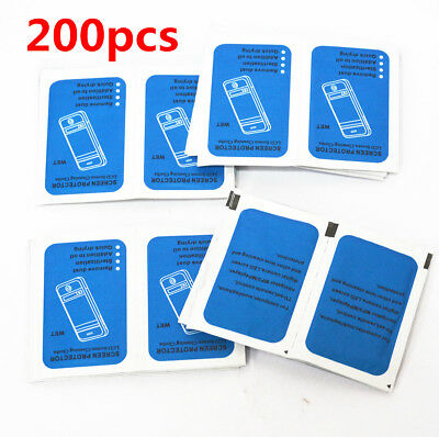 200x Cleaning Wipes For Glasses Camera Lens Computer Tablet Phone Screen