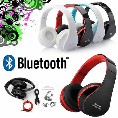 Wireless Headphones Bluetooth Headset Noise Cancelling Over Ear  Microphone CA