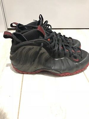 reputable site d3776 24956 Pre-owned Nike Air Foamposite One Penny Foams Men s Size 10.5 Bred Black Red