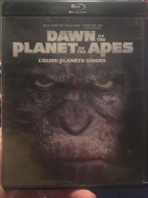 Dawn of the Planet of the Apes (Blu-ray/3D 2014, 2-Disc Set, Canadian 3D)