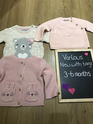 3-6 months girls bundle All New *will Combine P&P