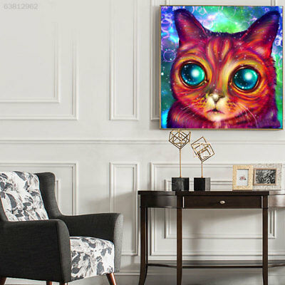 3653 Butterfly Diamond Painting Embroidery Cat Needlework Wall Decor