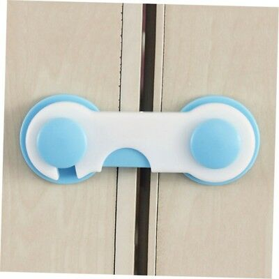 Baby Kids Box Drawer Cupboard Cabinet Wardrobe Door Fridge Safe Safety Lock G#N@