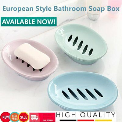 Bathroom Soap Dish Box Simple Design Double Layer Soap Sponge Dish Holder FK