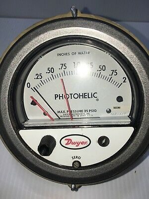 Dwyer Photohelic Series 3000MR Switch/Gauge