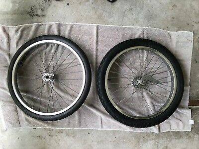 "Schwinn 20"" Wheel Set. (36 spokes) S-2 &  S-7 (28 spokes)"