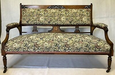 Edwardian Two Seat Couch