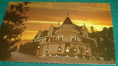 Vintage MAGIC CASTLE postcard MINT Academy of Magical Arts Victorian