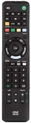 One For All URC1912 SONY TV Replacement remote