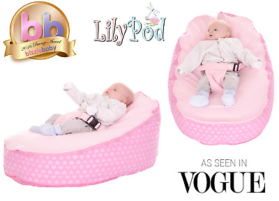 Baby Bean Bag By Lily-Pod P  - Including filling & New Design - RRP -£49.95