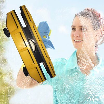 Magnetic Window Cleaner for Single Glazing Windows Glass Cleaning Tool E2