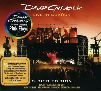 Live In Gdansk: 3 Disc Edition - David Gilmour (CD New)