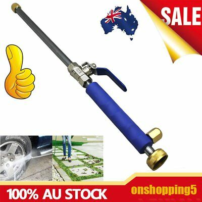 High Pressure Power Washer Spray Nozzle Home Water Gun Hose Wand Attachment BU