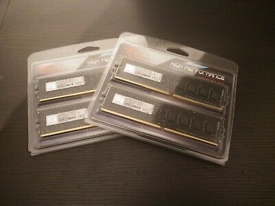 16GB (4x4GB) G.Skill Value DDR4-2400 DIMM CL15 (F4-2400C15D-8GNT)