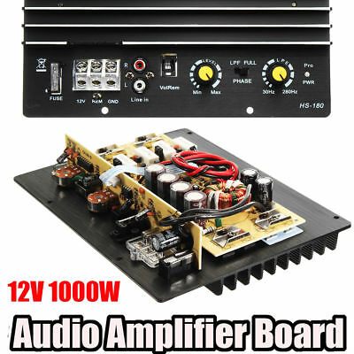 Assembly High-Power 1000W   Audio Player Digital HIFI Subwoofer Amplifier Board