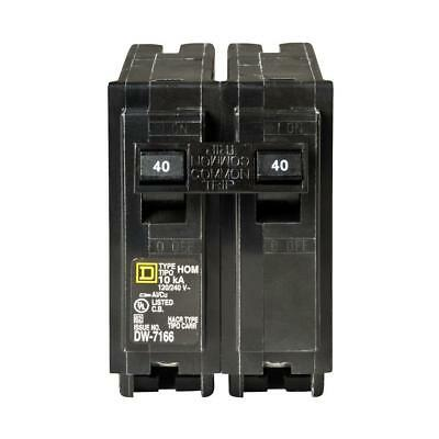 Square D Homeline 40 Amp 2-Pole Circuit