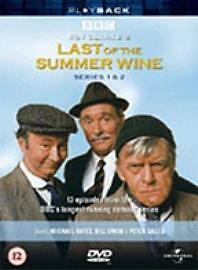 Last Of The Summer Wine - Series 1-2 - Complete (DVD, 2002, 4-Disc Box Set)  NEW