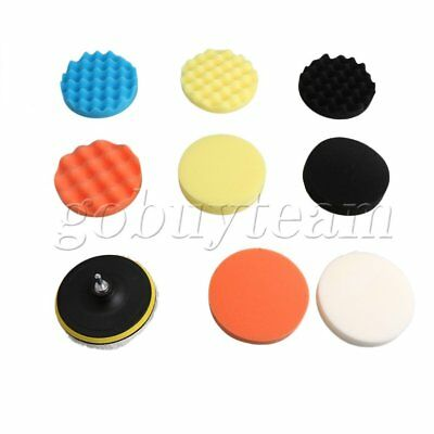 11 Piece 6inch (150mm) Buffing Pad Polishing Pad Kit for Car Polisher