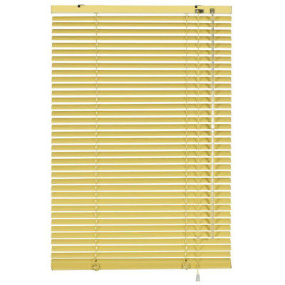 Luxury Vanilla Venetian Window Blinds - Home/Office - Aluminium - 90 x 175cm