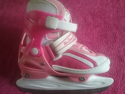 NO FEAR ICE SKATES GIRLS pink size 4