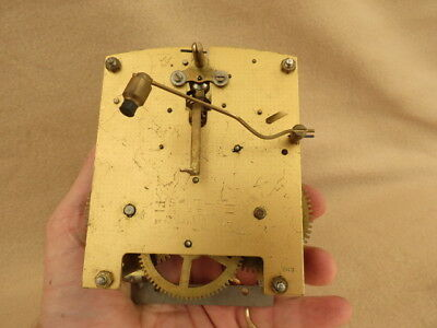 Vintage Smiths Enfield Striking Mantel Clock Movement For Spares Repair