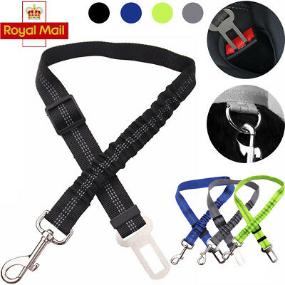 Anti Shock Elastic Bungee Pet Dog Seat Belt Clip Car Travel Safety Lead Harness
