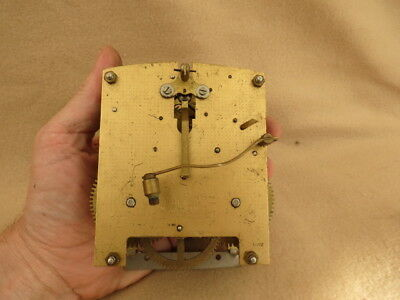 Vintage Smiths Enfield 8 Day Striking Clock Movement For Tlc