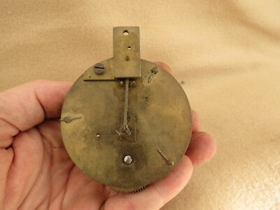 Small Antique French Clock Movement For Tlc