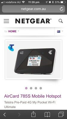 Netgear Aircard  4G Pocket wifi