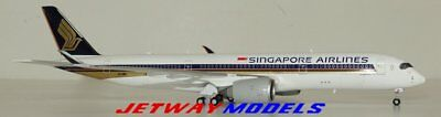 NEW 1:400 JC WINGS SINGAPORE AIRLINES AIRBUS A350-900 9V-SMR Model XX4097