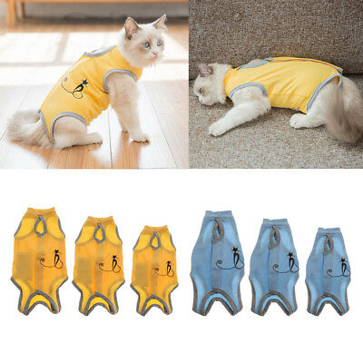 Pet Cat After Surgery Wear Sterilization Operation Recovery Suit Prevent Lick