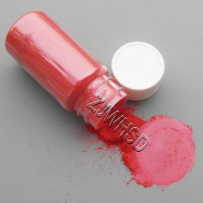 15ml Red Ultrafine Glitter Pearl Pigment Powder Metal Sparkle Shimmer Paint