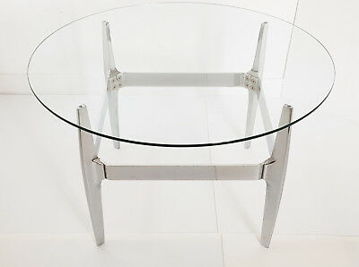 Coffee Table Round Vintage Knut Hesterberg For Ronald Schmitt 1970 70S 70's