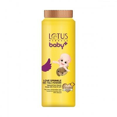 Lotus Herbals baby+ Love Sprinkle No-Talc Powder 100gm